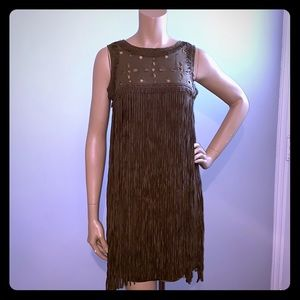 NWT Chelsea and Violet Fringe Dress Size XS